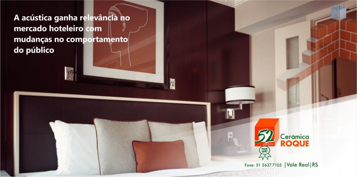 A acústica ganha relevância no mercado hoteleiro com mudanças no comportamento do público.