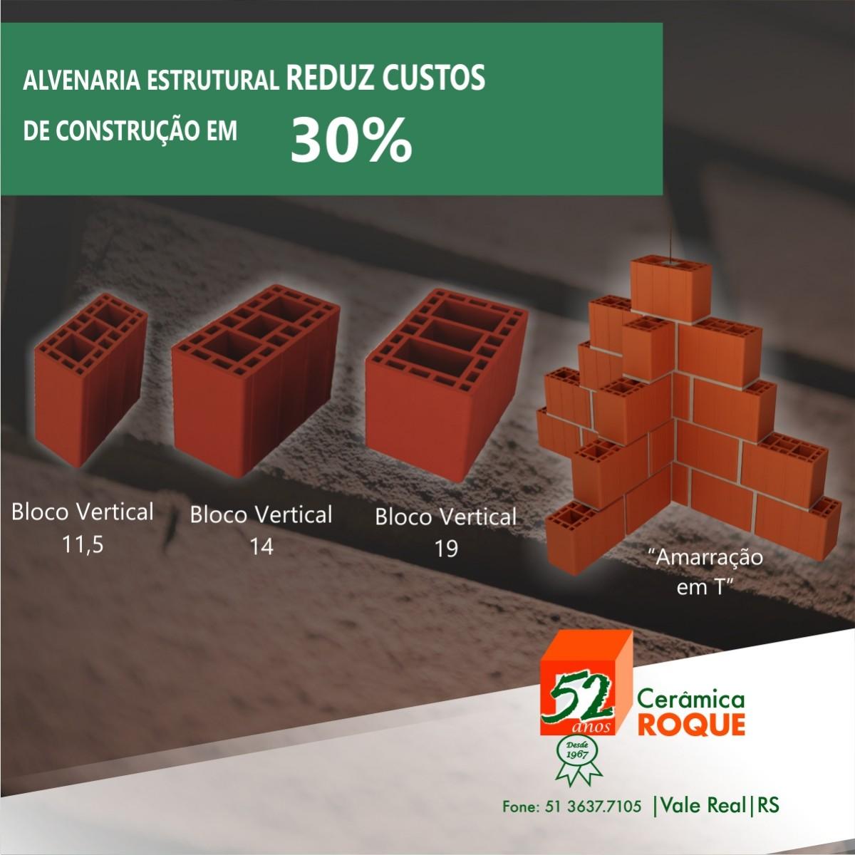 Alvenaria Estrutural reduz custos de construção em 30%