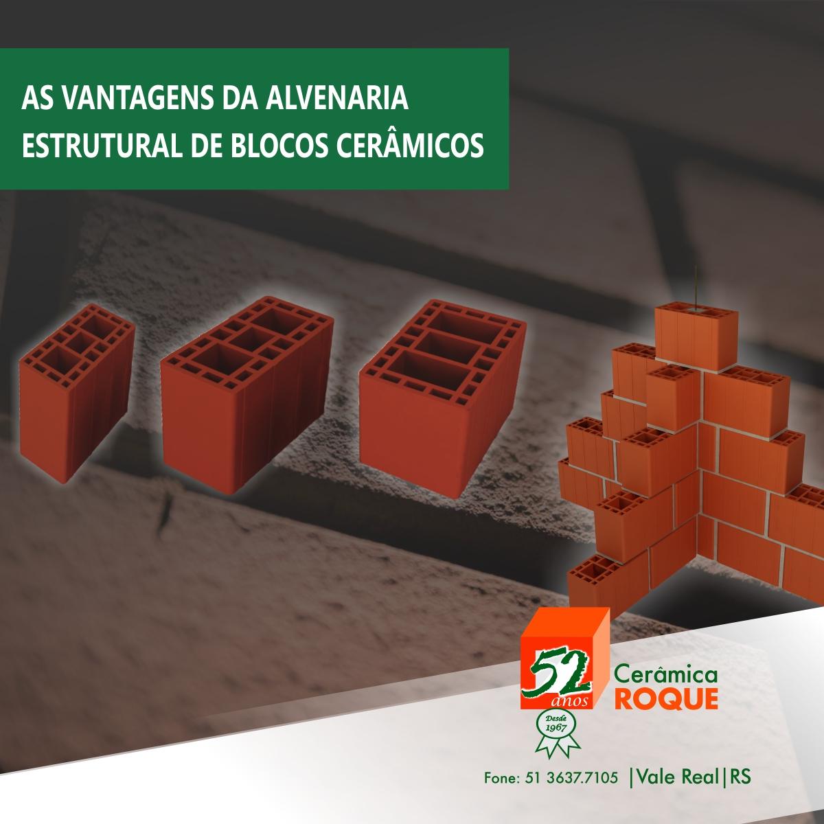 As vantagens da alvenaria estrutural de blocos cerâmicos