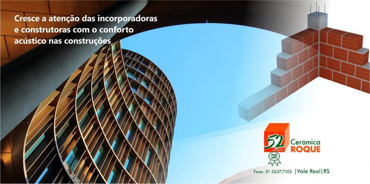Cresce a atenção das incorporadoras e construtoras com o conforto acústico nas construções