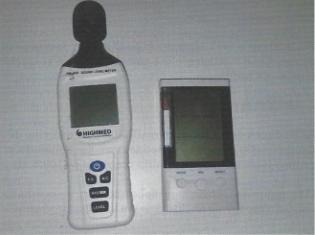 Figura 1 - Equipamentos utilizados nas medições (Própria, 2019)
