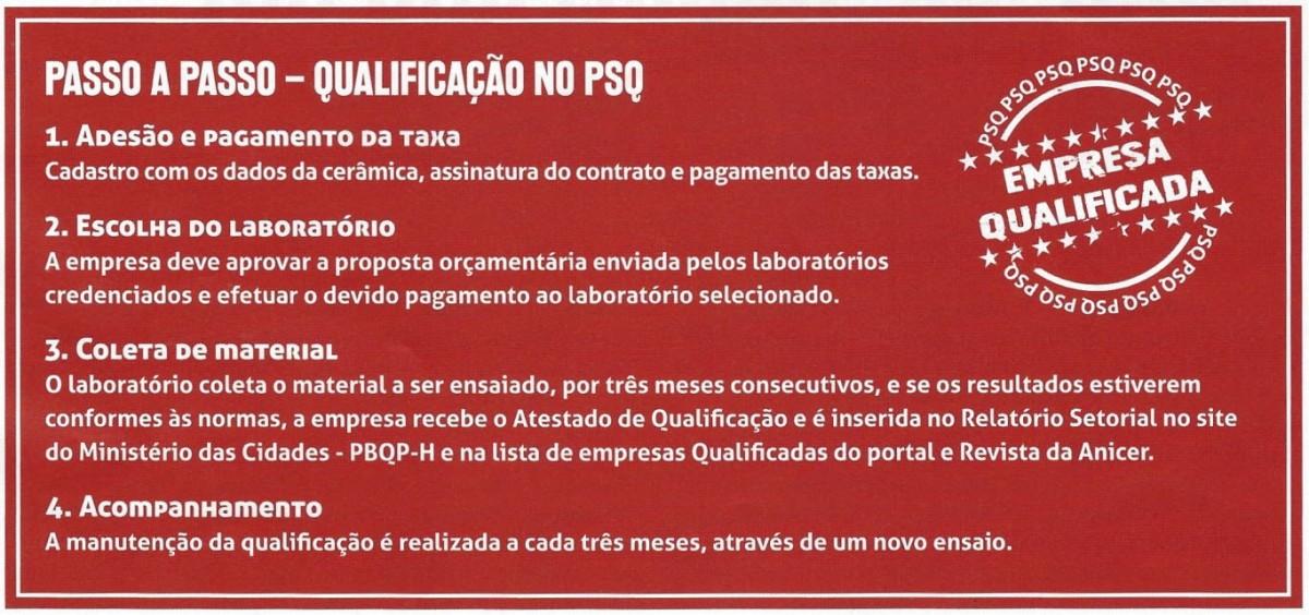 Imagem: PASSO A PASSO - QUALIFICAÇÃO NO PSQ